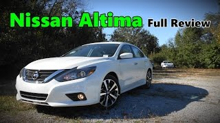 Download 2017 Nissan Altima: Full Review | 2.5 S, 2.5 SR, 2.5 SV, 2.5 SL, 3.5 SR & 3.5 SL Video