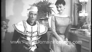 Download Audrey Hepburn and Mel Ferrer American Cancer Society 1954 Broadway PSA Video