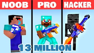 Download MONSTER SCHOOL : NOOB VS PRO VS HACKER BUILD BATTLE CHALLENGE NERF : MONSTER SCHOOL Video