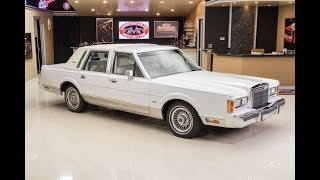 Download 1989 Lincoln Towncar For Sale Video