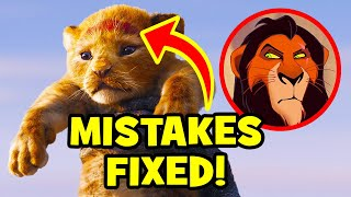 Download 17 Disney Mistakes FIXED In THE LION KING (2019) Video