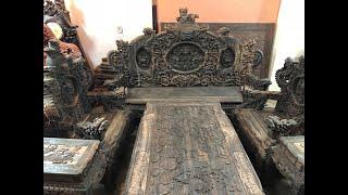 Download GỖ MUN VÍP: Bộ bàn ghế rồng đỉnh gỗ mun lào gồm 12 món | 0989635555| Đồ Gỗ Thu Tú Video