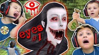 Download EYES!!!! EVERYWHERE!!!!! (FGTEEV gets GURKEY w/ Chase, Shawn & Mike) Video