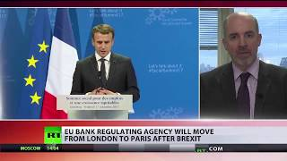 Download EU bank regulating agency will move from London to Paris post-Brexit Video