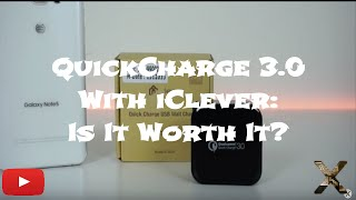 Download Quickcharge 3 0 (from iClever): Is It Worth It? Video