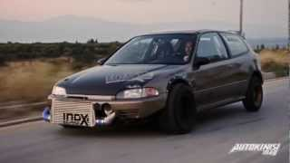 Download TUNING P*RN: HONDA CIVIC TURBO 817PS | Autokinisimag Issue #18 | Feat ″Spin This″ - Idox Video