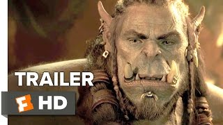 Download Warcraft Official Trailer #1 (2016) - Travis Fimmel, Dominic Cooper Movie HD Video