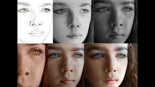 Download Digital Painting Hyper-Realism (freehand) in Photoshop Video