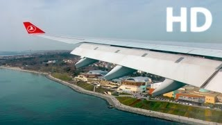 Download Turkish A330 Istanbul Landing - GoPro Hero3 + Panasonic TM900- THY A330 İstanbul Harika İniş 1080p Video