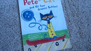 Download Pete The Cat and His Four Groovy Buttons Children's Read Aloud Story Book For Kids By James Dean Video