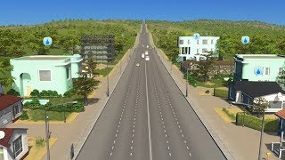 Download When City Planning in Cities Skylines creates a city with only one road Video