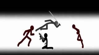 Download Stick Figure Fight Scenes Compilation Part 1 Video