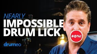 Download The Nearly Impossible Drum Lick Video