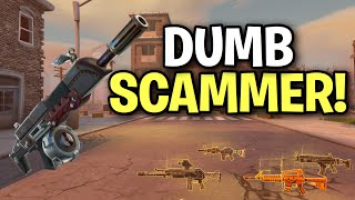 Download Dumb Angry Scammer Scams Himself! (Scammer Get Scammed) Fortnite Save The World Video