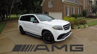 Download The 2018 Mercedes Benz GLS63 AMG is a $130K BEAST! Video