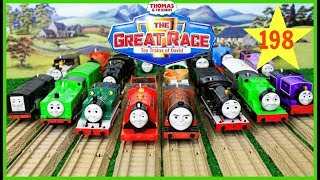 Download THE GREAT RACE #198 Thomas and Friends TrackMaster Journey Beyond Sodor THOMAS & FRIENDS TOY TRAINS Video