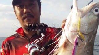 Download Field test - Poseidon Mythic weapon Rod , Core light Jigging Rod and Poseidon mini 150 Reel. Video