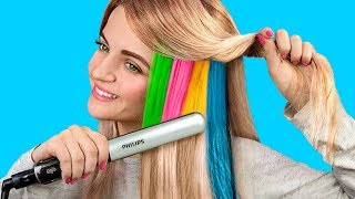 Download 9 Cool Hairstyles to Make Under a Minute / Hair Hacks Video