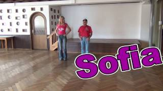 Download Sofia Line Dance Teach & Dance Video