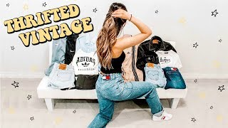 Download EPIC $100 THRIFT HAUL ☆ TOMMY HILFIGER, LEVIS, ADIDAS, NIKE (try on) Video