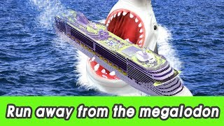 Download [EN] #97 Run away from the megalodon! kids education, learn animals name, CollectaㅣCoCosToy Video