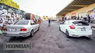 Download [HOONIGAN] DT 214: Daily Driver Drag Race - 16 Car Shootout Video
