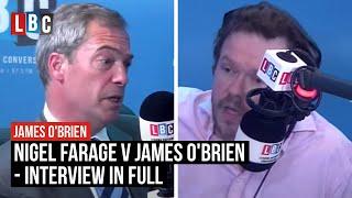 Download Nigel Farage v James O'Brien: Live On LBC Video