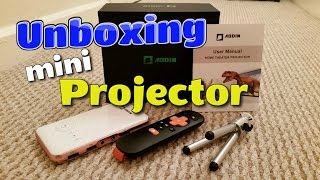Download Aodin 2017 Portable Smart Mini Android Projector 32gb (Full HD 1080p support) Video
