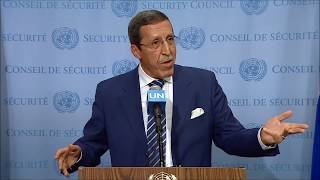 Download On Western Sahara, Inner City Press Asks Hilale About Abstentions, Rif, Rights and Phosphate Video
