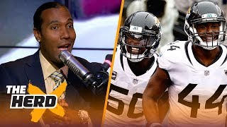 Download TJ Houshmandzadeh talks Jaguars emotional playing style, Cousins offensive weapons   NFL   THE HERD Video