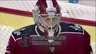 Download KHL Top 10 Saves of the Week 14 Video