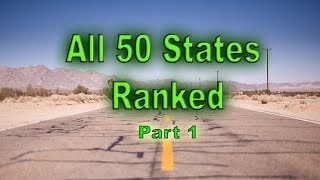 Download Ranking All 50 States for 2019 Part 1. All United States from worst to best. Video