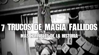 Download Los 7 trucos de magia fallidos más horribles de la historia Video