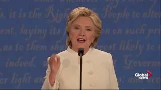 Download Presidential debate: Hillary Clinton calls Donald Trump 'a puppet' for Vladimir Putin Video