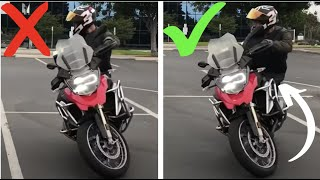 Download How To Do A U-Turn On Any Motorcycle! Video