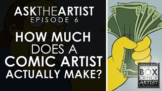 Download HOW MUCH DOES A COMIC BOOK ARTIST ACTUALLY MAKE? ASK THE ARTIST EPISODE 06 Video