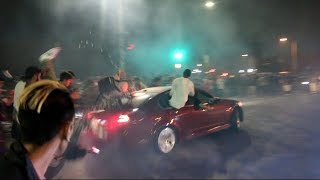 Download G8 Crashes Into ENTIRE CROWD! Car Meet Gone BAD.. Video