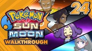 Download Pokémon Sun and Moon Walkthrough - Part 24: Elite Four of Alola's Pokémon League! Video