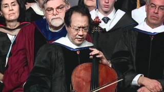 Download Yo-Yo Ma performs at Brandeis Commencement Video