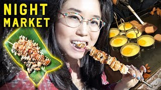 Download STREET FOOD IN SEOUL ♦ Korean Night Market on Yeouido Island Video