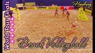 Download Beach Volleyball - Hamburg World Tour Finals - Losiak & Kantor (POL) vs Samoilovs & Smedins (LAT) Video