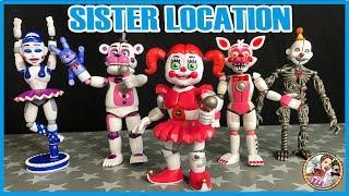 Download SISTER LOCATION FIGURINES ARTICULEES FUNKO Video