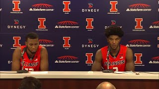 Download Illini Players Postgame Press Conference vs. Marshall 11/19/17 Video