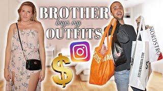Download MY BROTHER BOUGHT MY OUTFITS Video