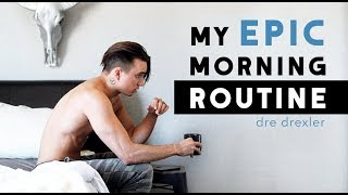 Download My EPIC Morning Routine [2018] + Men's Healthy Lifestyle Tips Video
