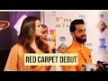 Download Karan Vohra & Samiksha Jaiswal's RED CARPET DEBUT | Zee Rishtey Award Video