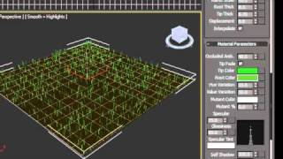 Download 3ds Max - How To Make Grass Video