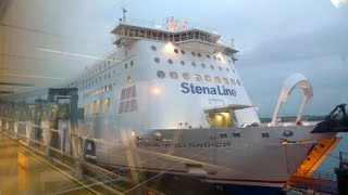 Download London to Amsterdam by Dutch Flyer train & ferry service Video