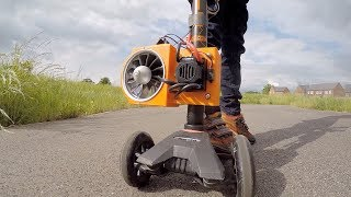 Download Jet Powered Kids Scooter Video