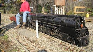 Download live steam Pennsylvania PRR Q2 Prototype model train Mill Creek Central duplex Video